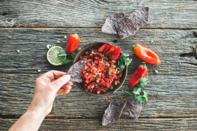 strawberry salsa healthy recipe